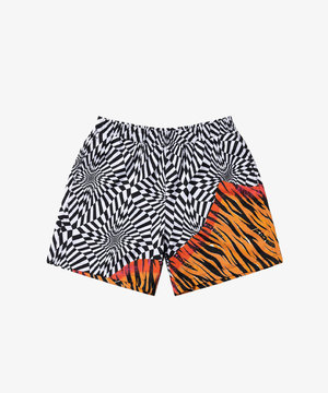 Vans Vans X Aries Distorted Shorts Check