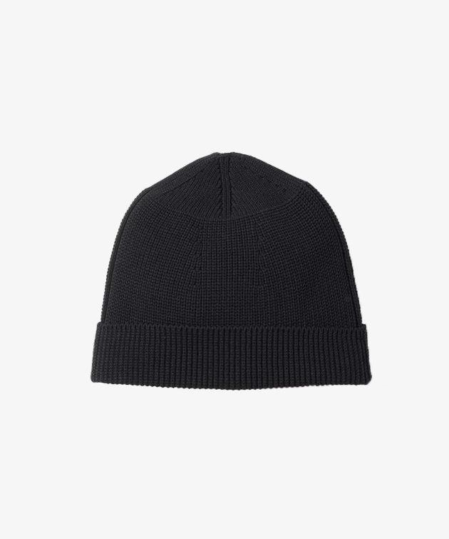 Snow Peak Snow Peak WG Stretch Knit Cap Black