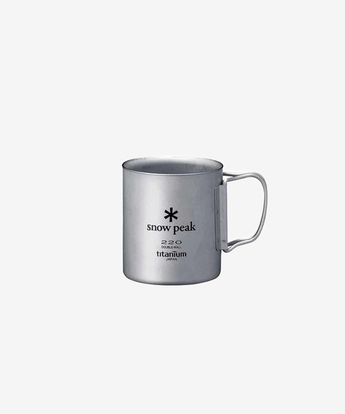 Snow Peak Double Wall Cup 220