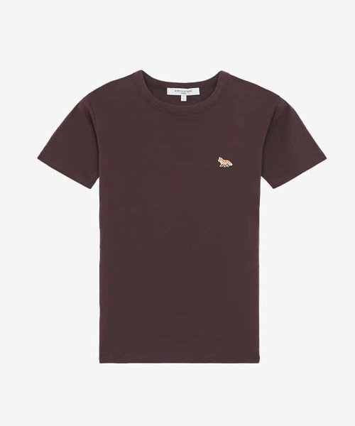 Kitsuné Baby Fox Patch Fitted Tee Shirt Chocolate