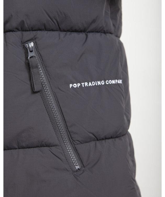 POP Trading Company POP Alex Padded Jacket Charcoal
