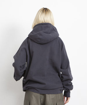 POP Trading Company POP Arch Hooded Sweat Anthracite