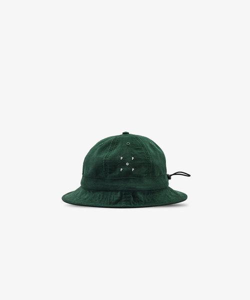 POP Bell Hat Dark Green Minicord