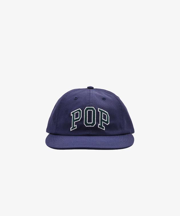 POP Trading Company POP Arch Logo 6 Panel Hat Navy