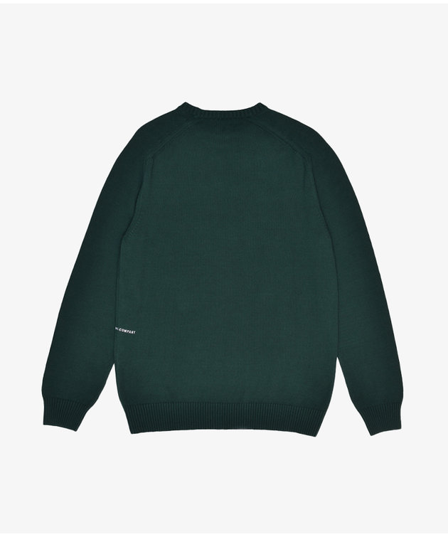 POP Trading Company POP Arch Knitted Crewneck Bistro Green