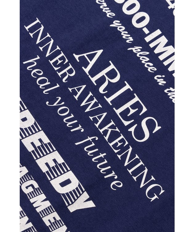 Aries Aries Mystic Business SS Tee Navy