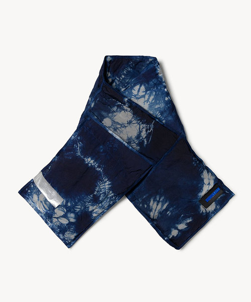 Aries Nylon Quilted Scarf Navy