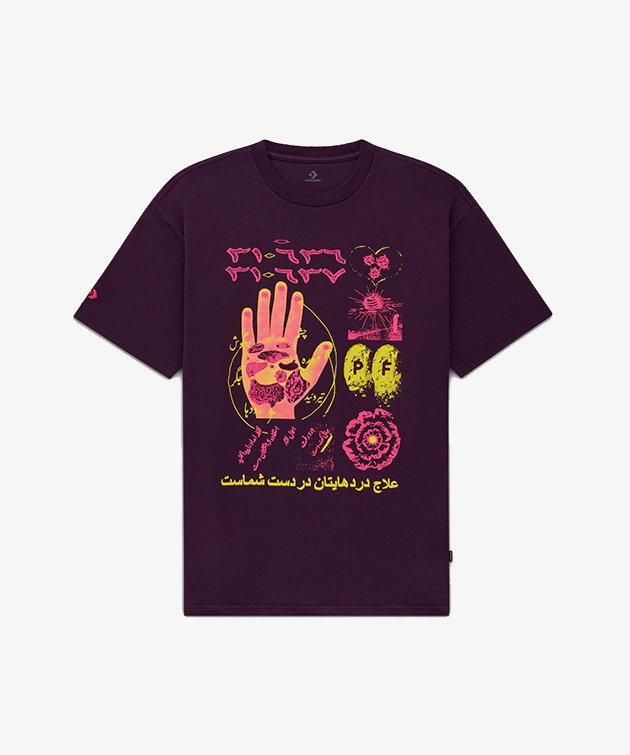 Converse Converse X Paria Fashion Tee Purple