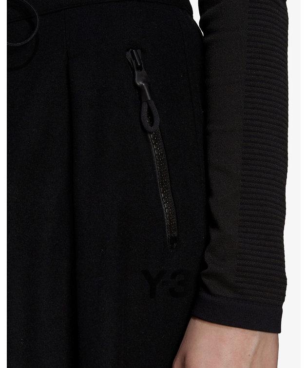 Y-3 Y-3 CH2 Wool Flannel Pants Black