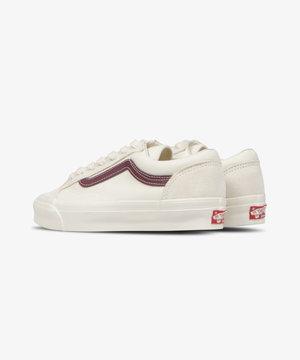 Vans Vans UA OG Style 36 LX Classic White/Pomegranate