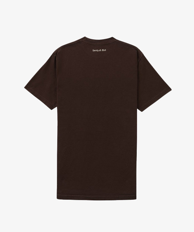 Sporty and Rich Sporty & Rich Be Nice T-Shirt Chocolate