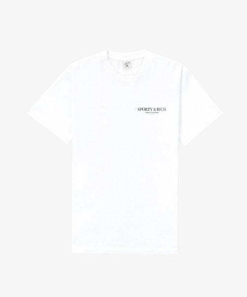 Sporty & Rich California T-Shirt White
