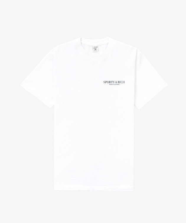 Sporty and Rich Sporty & Rich California T-Shirt White