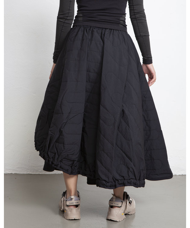 Y-3 Y-3 CH2 Cloud Quilted Skirt Black