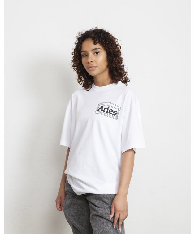 Aries Aries Kebab SS Tee White