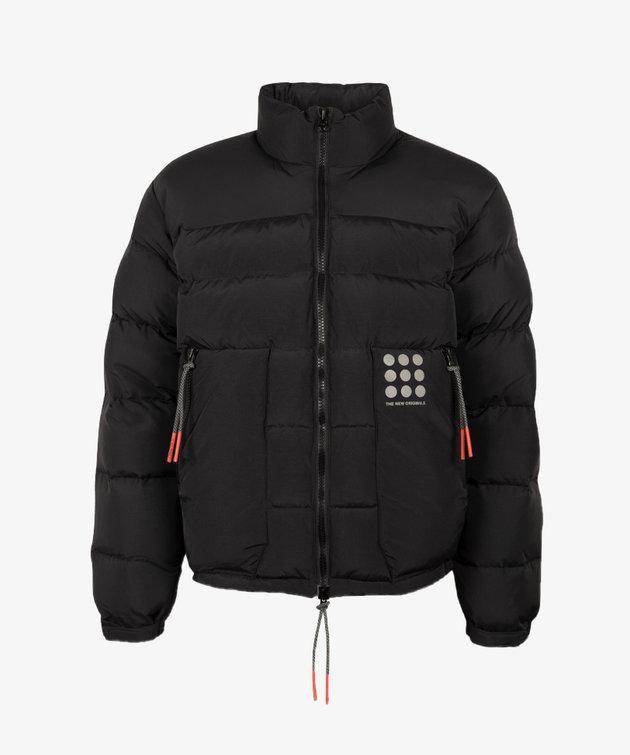 The New Originals TNO Cloud Nine Dots Down Jacket Black