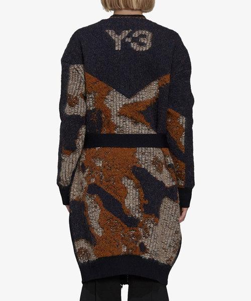 Y-3 CH1 Camo Knit Cardigan