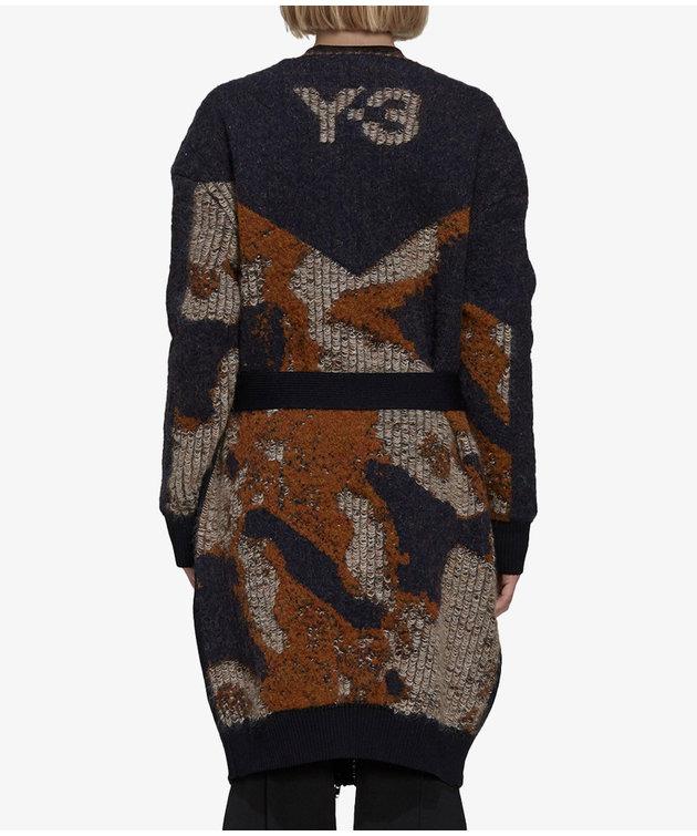 Y-3 Y-3 CH1 Camo Knit Cardigan