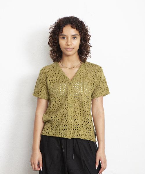 Stussy Samira Crochet Avocado