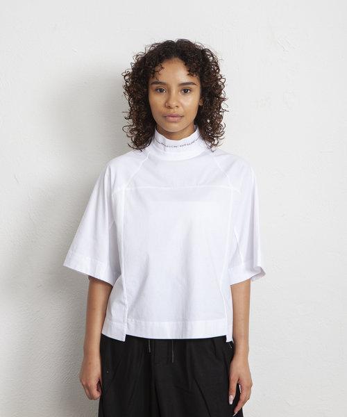 Kitsuné Cropped T-Shirt White