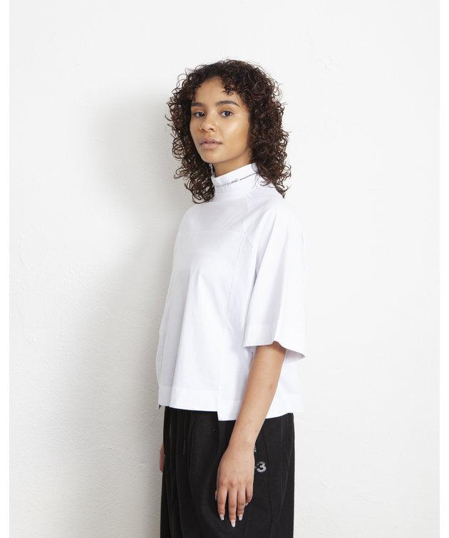 Maison Kitsune Kitsuné Cropped T-Shirt White