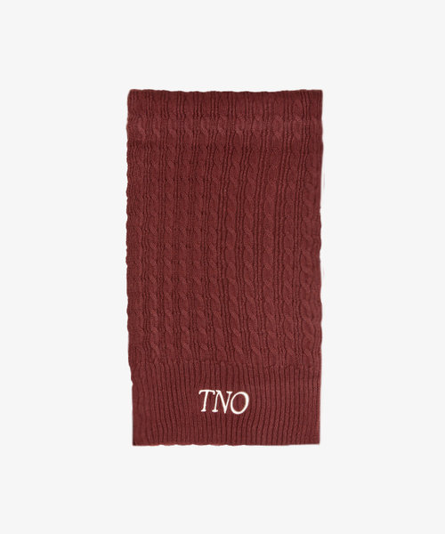 TNO Cable Knit Scarf