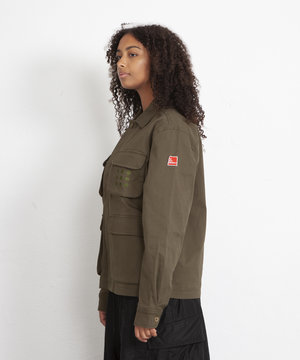 The New Originals TNO Multipocket Jacket Moss Green