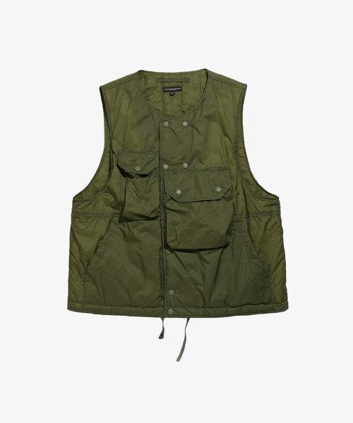 EG Cover Vest Olive Nylon Micro Ripstop