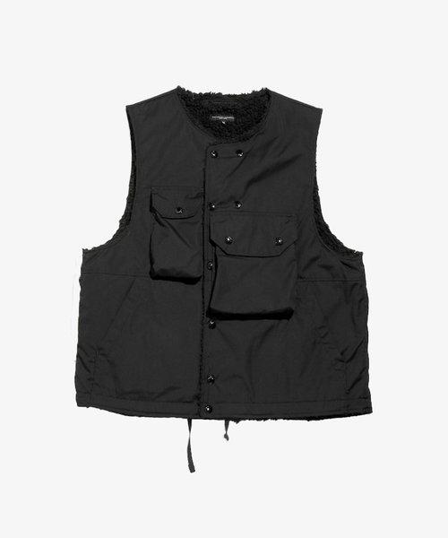 EG Cover Vest Black PC Poplin