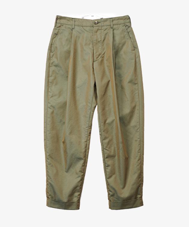 Engineered Garments EG WW Pant Olive PC Iridescent Twill