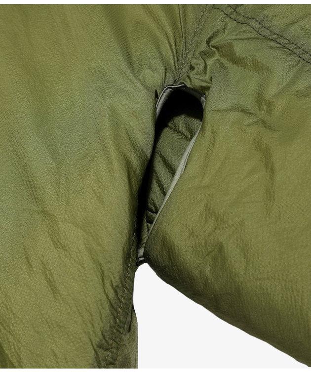 Engineered Garments EG Liner Jacket Olive Nylon Micro Ripstop