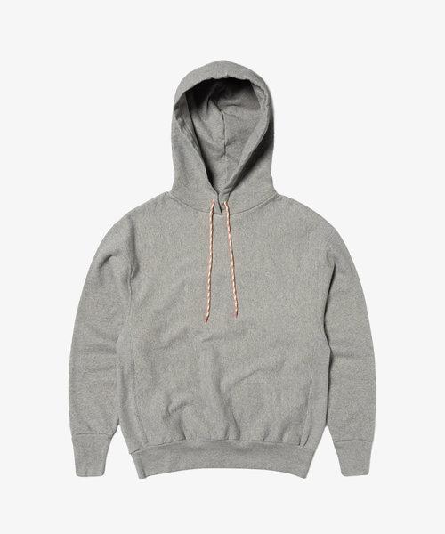 Aries Temple Hood Premium Hoodie Grey Merl