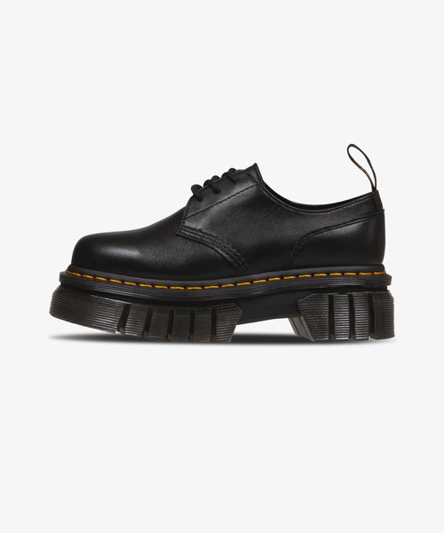 Dr. Martens Audrick 3-Eye Shoe Black Nappa Lux