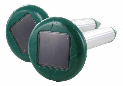 Weitech 2 mollenverjagers op zonnenergie
