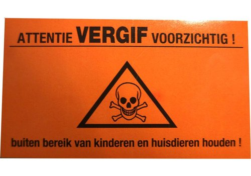 AllesTegenOngedierte.nl Gif waarschuwingssticker