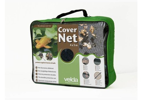 Velda Vijver Cover Net 4 x 3 meter groen