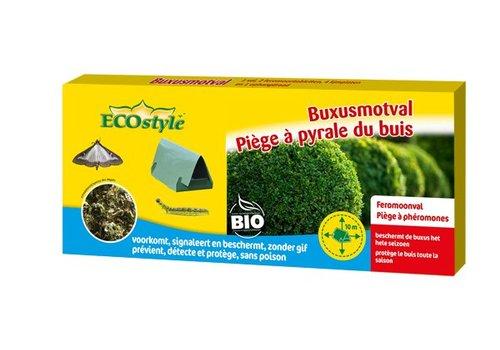 ECOstyle Buxusmotval met lijmplaten