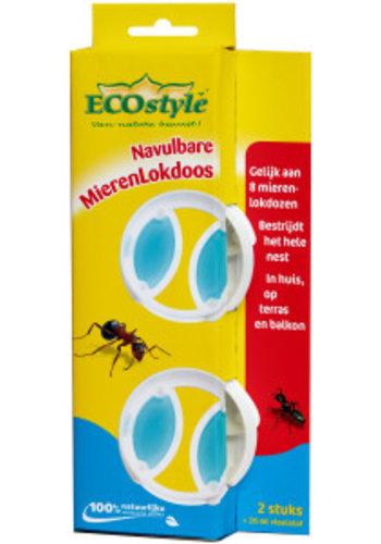 ECOstyle Navulbare Mierenlokdoos 2 stuks