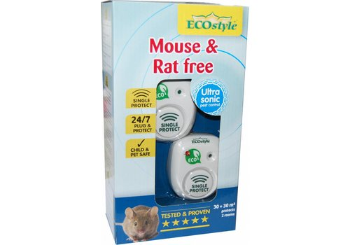 ECOstyle Mouse & Rat free 2 kamers 30 +30