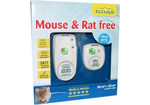 ECOstyle Mouse & Rat free hele huis 80 + 30