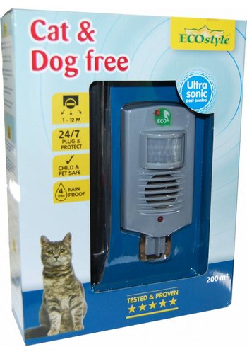 ECOstyle Cat & Dog free buitenverjager