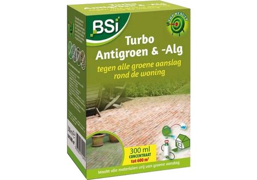 BSI Turbo Antigroen & -alg 300ML
