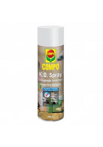 COMPO K.O. Spray tegen vliegende insecten 400 ml