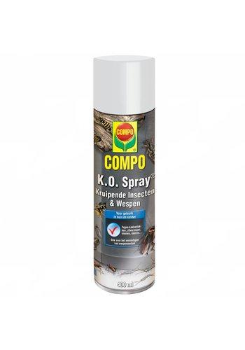 COMPO K.O. Spray tegen kruipende insecten 400 ml