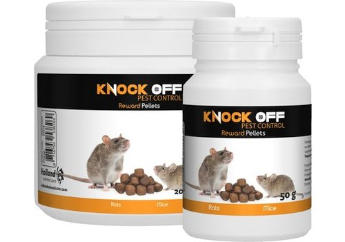 Knock Off Lokaas voor Vangkooien 200 gram