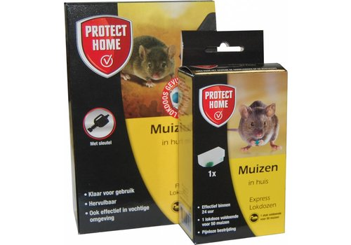Protect Home Duo pak muizengif - Frap + Express lokdoos