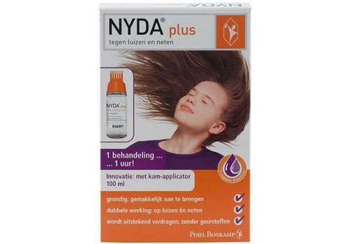 Nyda PLUS Tegen luizen en neten pompspray 100ML