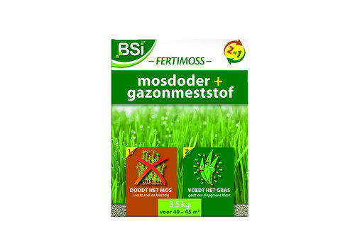 BSI Fertimoss 2 in 1 meststof en anti-mos 3,5 kg