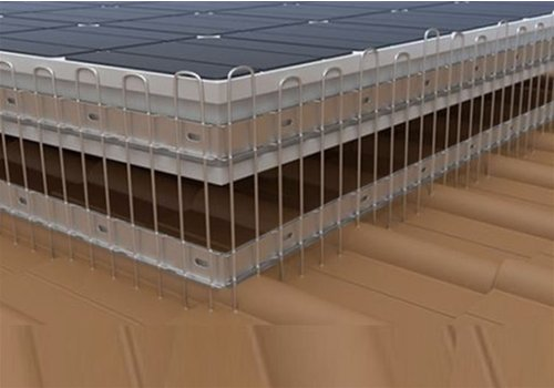 Ketrop Zonnepaneel beschermer 16CM x 1M