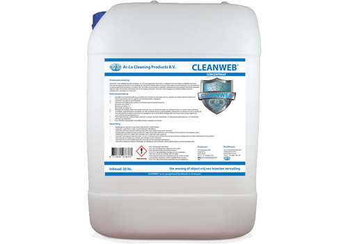 Cleanweb Concentraat tegen Insecten en Spinnen 20L